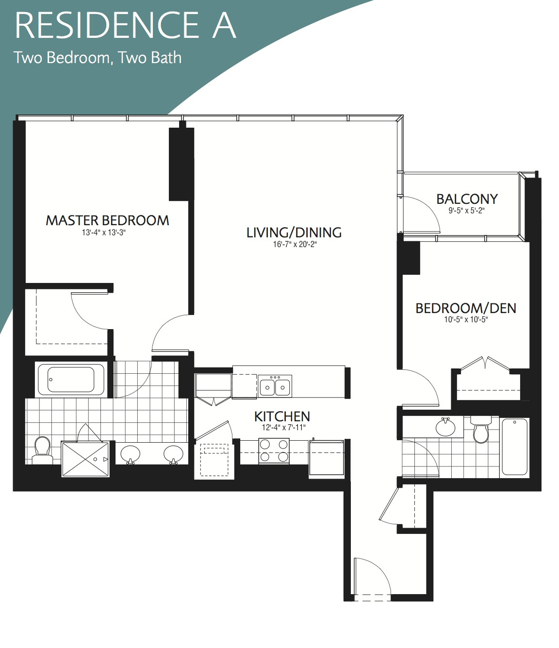 Parkview Condominiums, 505 N McClurg, Floor Plans