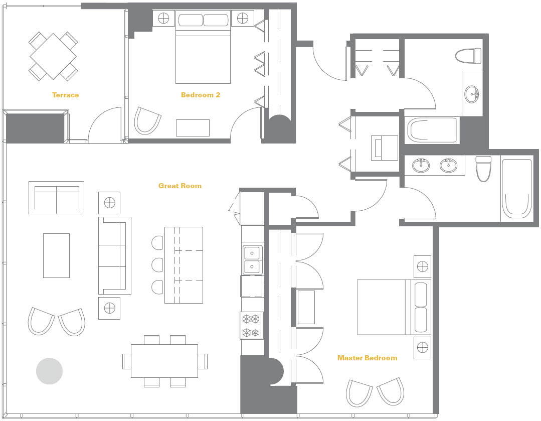 Chicago Condo Floor Plans: Over 5000 House Plans